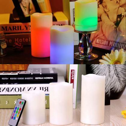 Brand New LED Flameless Candles Wit..