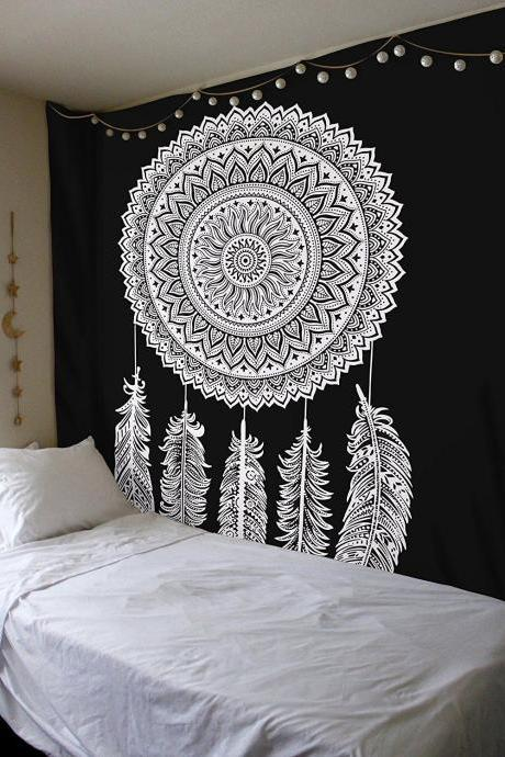 Mandala Wall Hanging ,Tapestry, Bed Cover