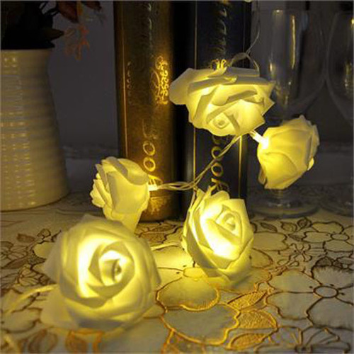 Rose Fairy Lights - 20 Led